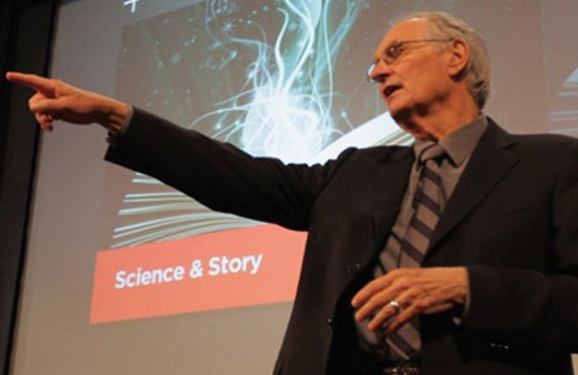 It's not rocket science - is it? Alan Alda and fluent storytelling