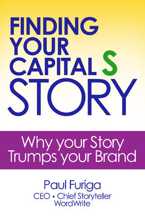 Finding Your Capital S Story book cover