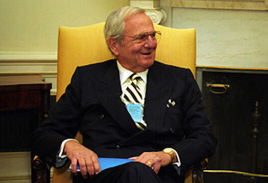 Lee Iacocca, auto industry titan.