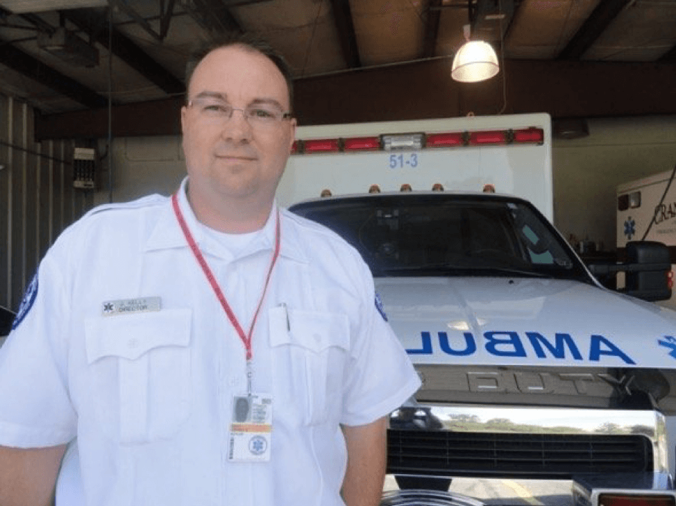Jeff Kelly, Cranberry Township EMS director