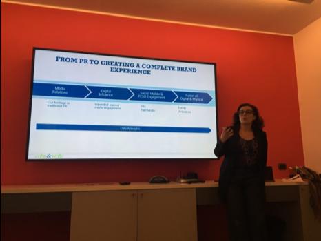 Elena Silva of Cohen & Wolfe presents a case study relating to brand development.