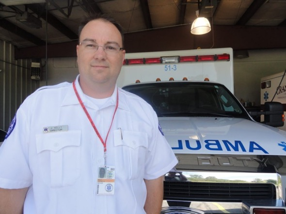 Cranberry EMS director, Jeff Kelly