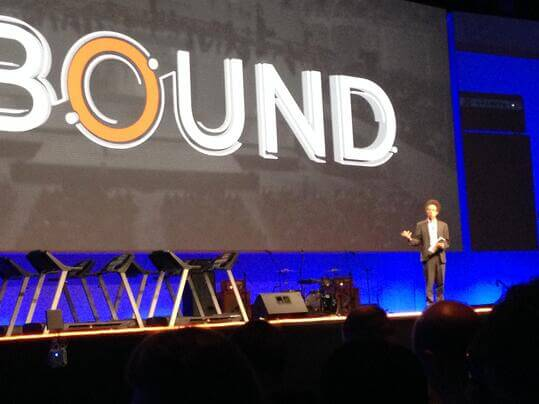 Malcolm Gladwell shares tips at Inbound