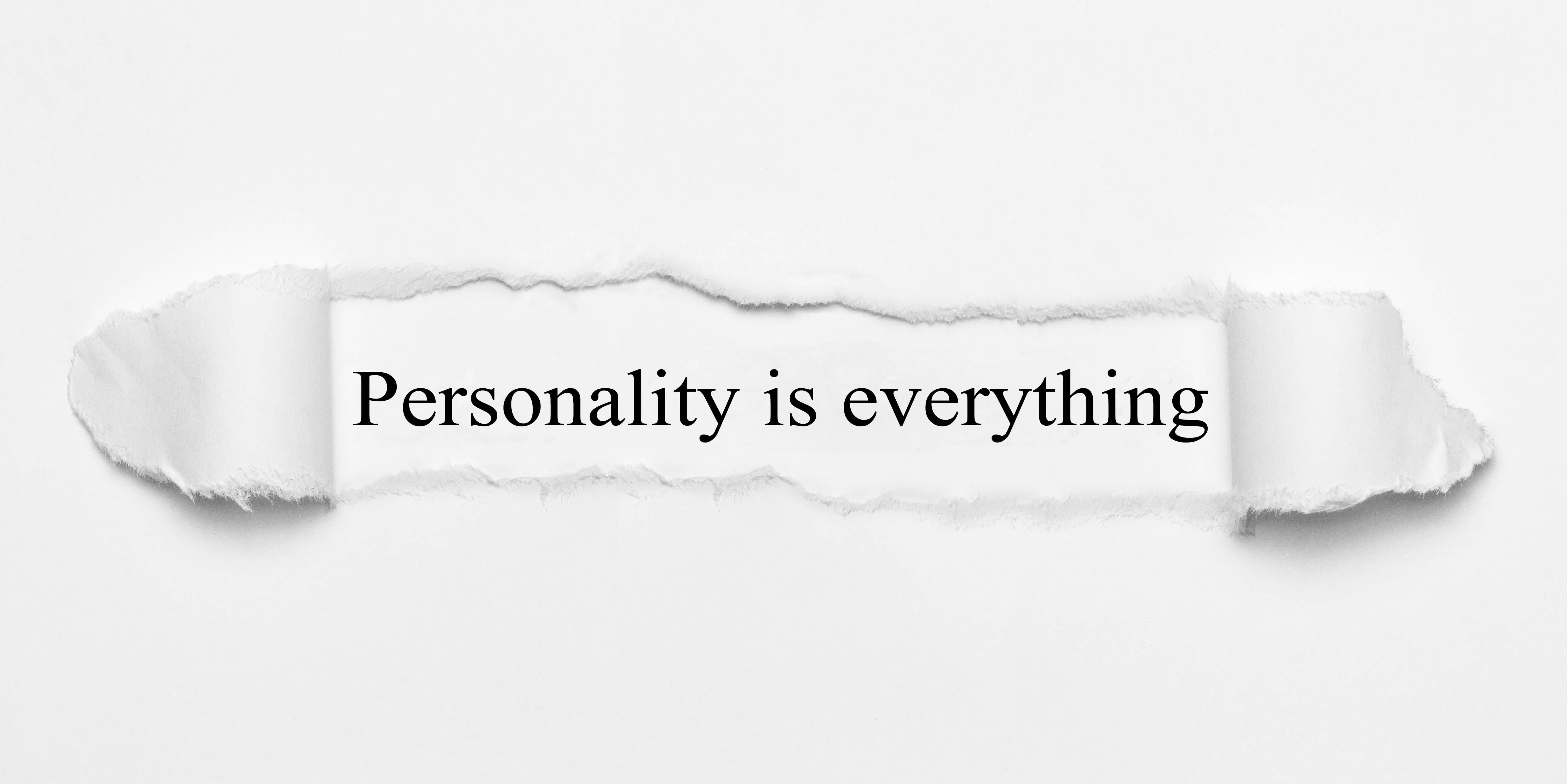 Develop a great brand personality.