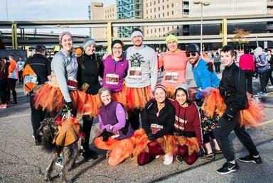 This year's YMCA Turkey Trot.
