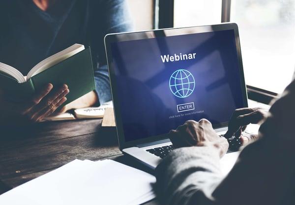 Plan an effective webinar.